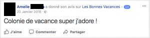 """""""Les Bonnes Vacances"""" présent sur les réseaux sociaux !"""